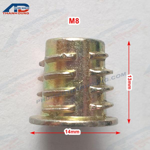 Ốc Cấy Có Vành M8x13