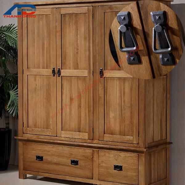 Tay nắm cửa tủ gỗ TD190201C