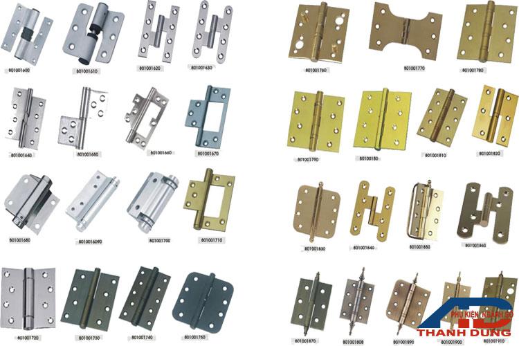 mẫu bản lề lá được thanh dung sản xuất