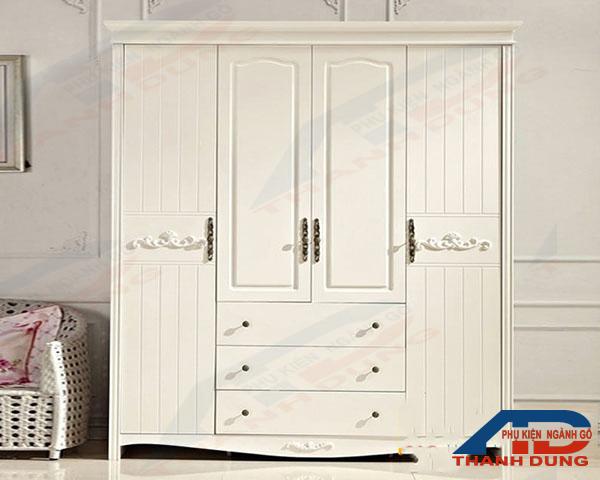 mẫu tay nắm cửa gỗ đẹp cho tủ quần áo